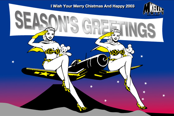 New Year Card 2003